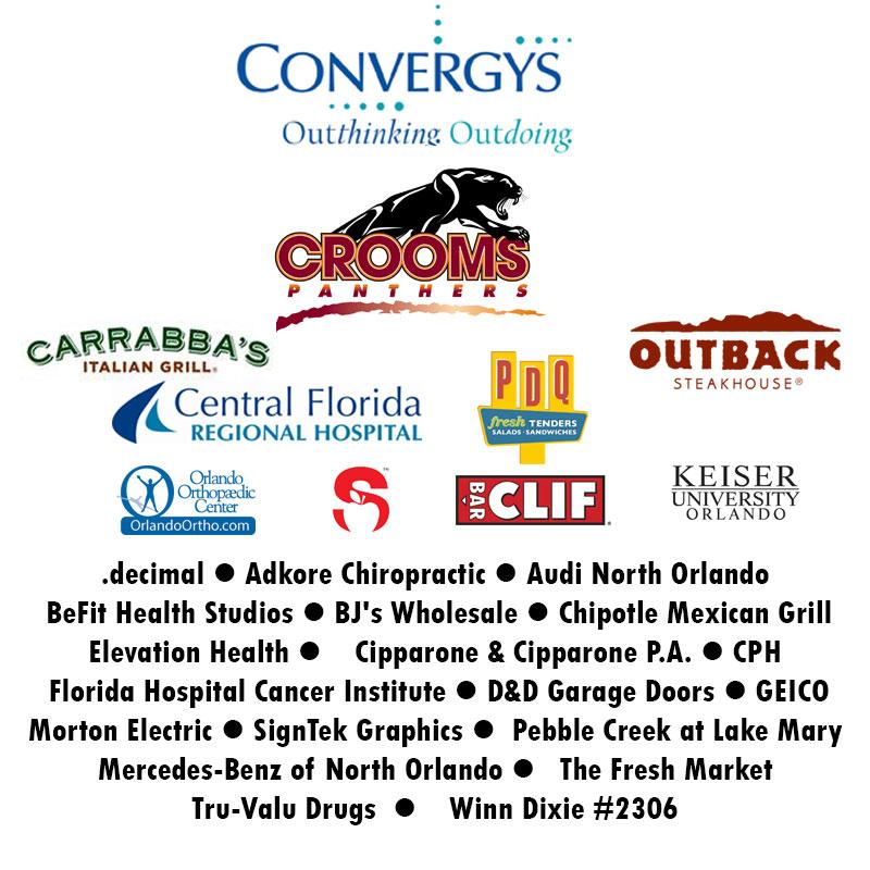 Thank you 2015 sponsors