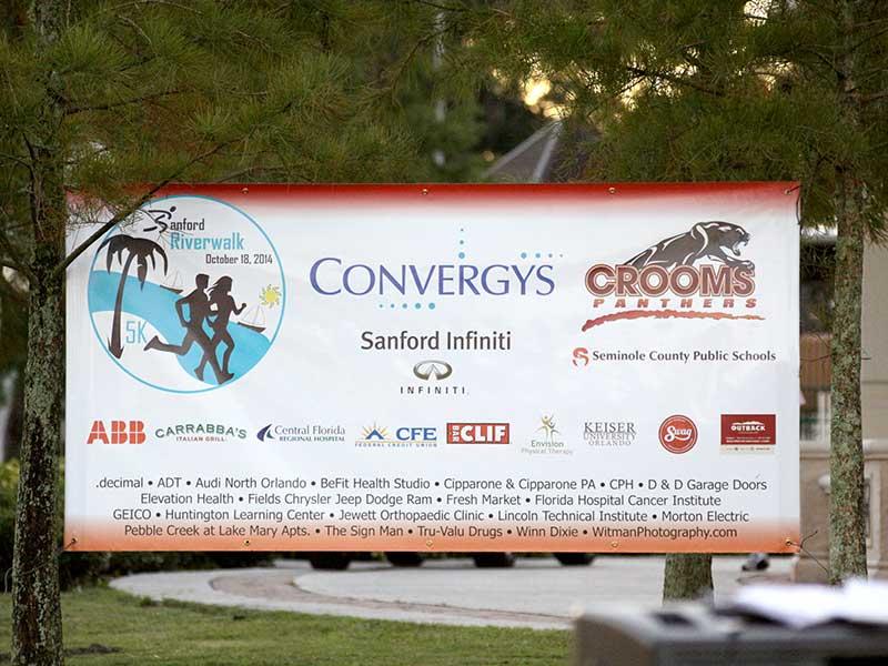 Thank you Sanford Riverwalk 5K Sponsors